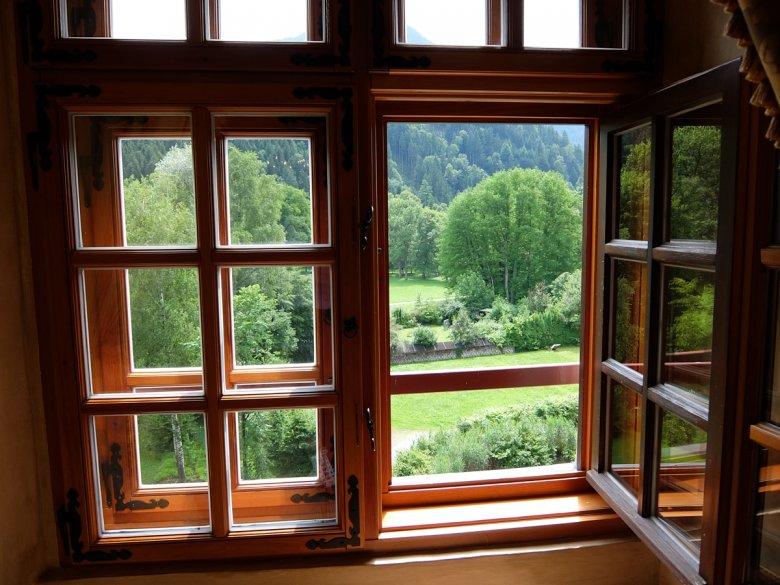 … und dann noch dieser Ausblick aus den Fenstern