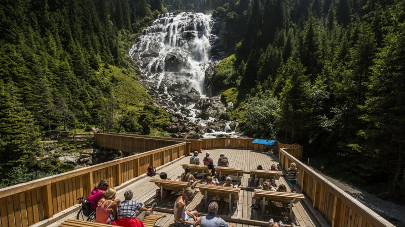 Grawa Wasserfall, © TVB Stubai Tirol/Heinz Zak
