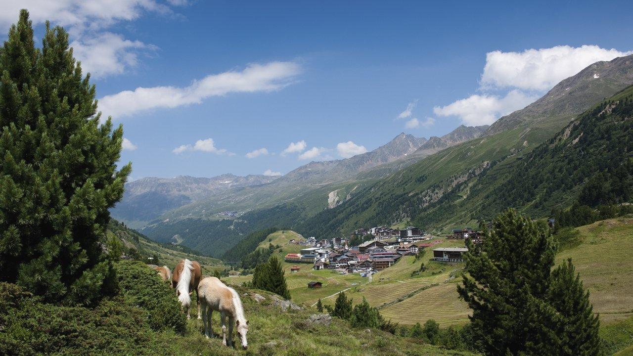 Hochgurgl im Sommer, © Ötztal Tourismus/Alexander Lohmann