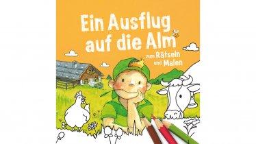 """Malbuch """"Ein Ausflug auf die Alm"""""""