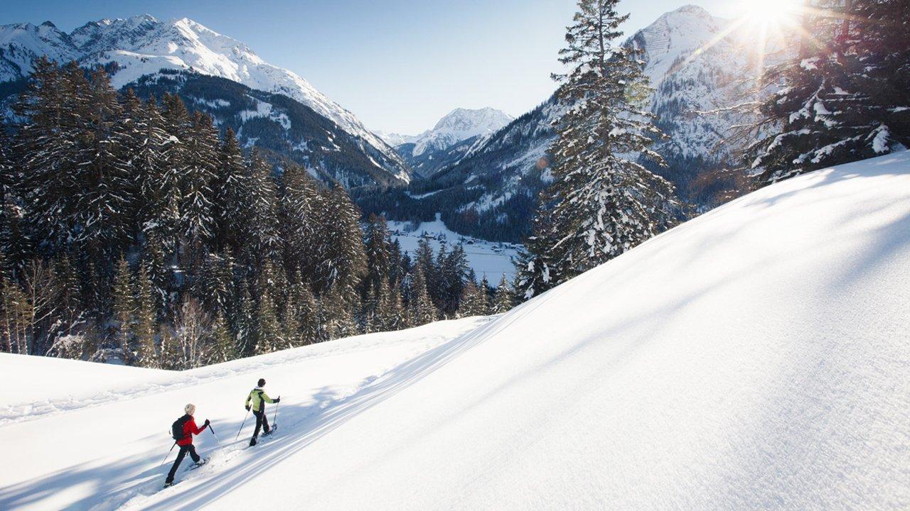 Schneeschuhwandern im Lechtal, © Robert Eder