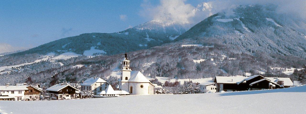 Schönberg im Winter, © Stubai Tirol