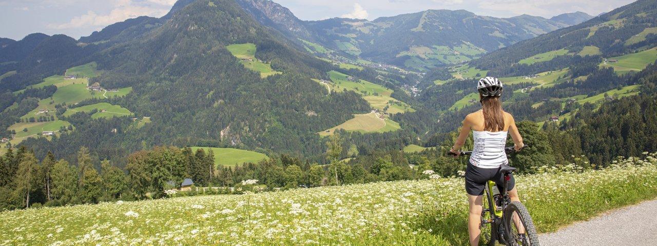 Mountainbiken in Alpbach, © Alpbachtal Tourismus / Matthias Sedlak