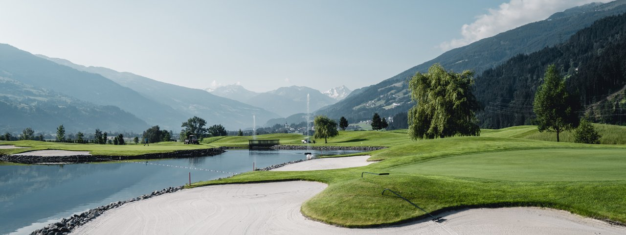 Golfplatz Uderns im Zillertal, © Zillertal Tourismus/Christoph Johann