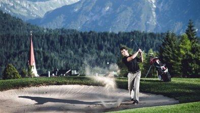 Golfen im Golfclub Seefeld-Reith, © Olympiaregion Seefeld, Stephan Elsler