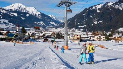 Skifahren am Sonnenhang, © Birgit Standke