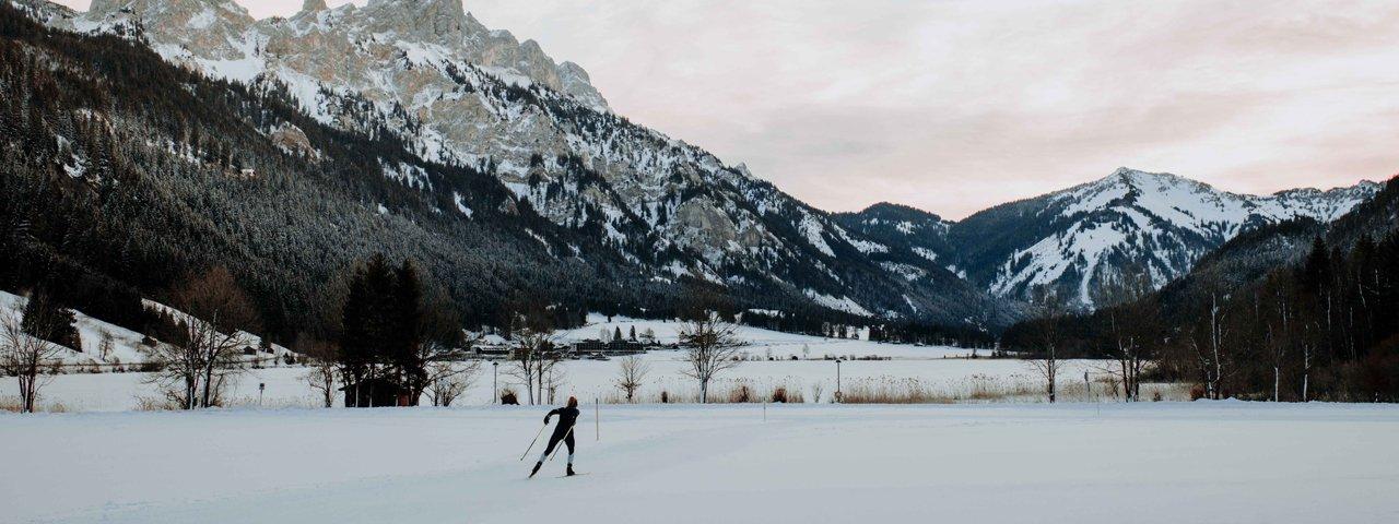 Langlaufen im Tannheimer Tal, © Tirol Werbung/Charly Schwarz