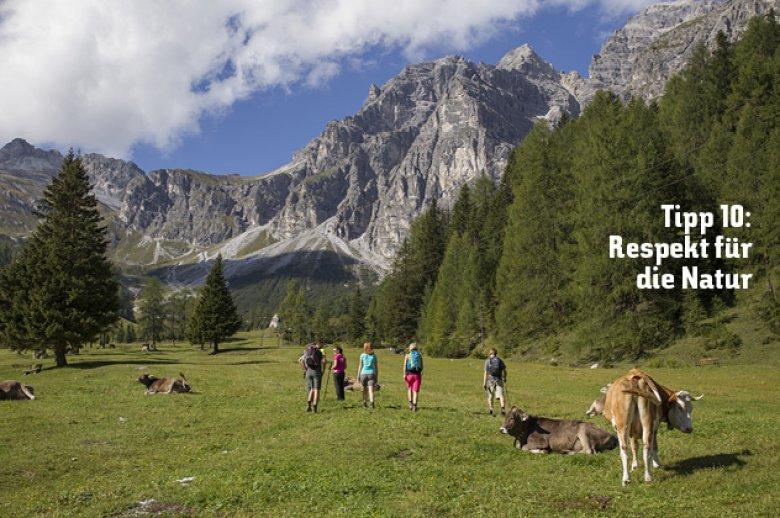 Tipp 10: Respekt für die Natur