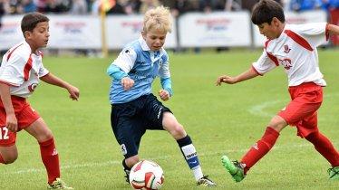 Beim Cordial Cup in den Kitzbüheler Alpen kicken Jugendliche aus 20 Ländern gegeneinander, © Cordial Cup