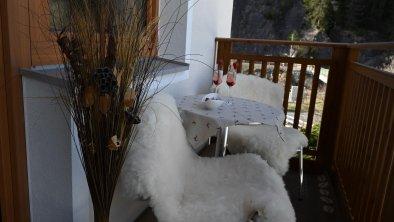 Balkon - Sitzgelegenheit