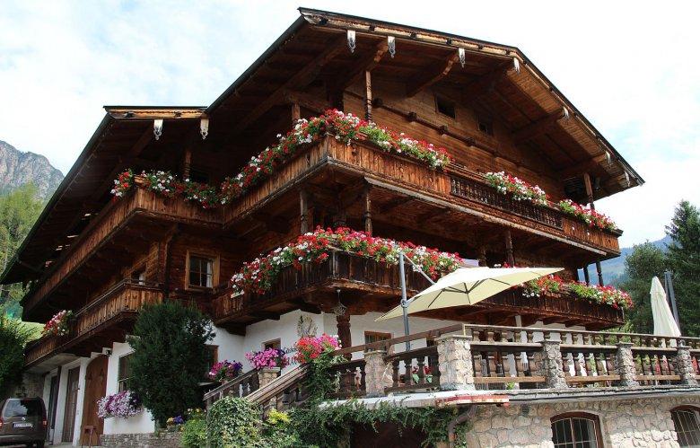 Das Gästehaus Gratlspitz in Alpbach. Foto: Gästehaus Gratlspitz