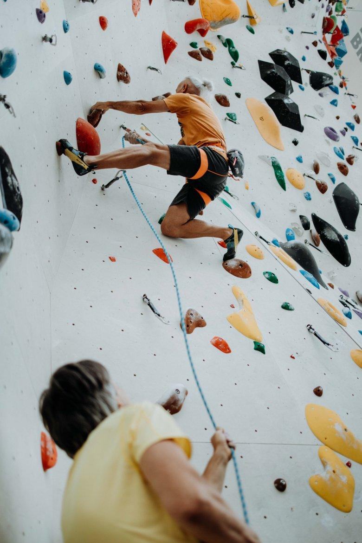Bei kaum ein anderen Sportart ist ein komplettes Abschalten so gut möglich wie beim Klettern.