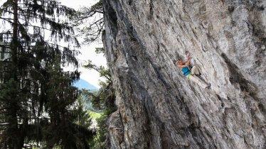 Klettern in der Ferienregion Imst, © Bernie Ruech