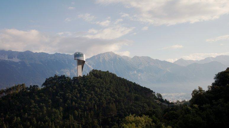 Bergiselschanze Innsbruck von Star-Architektin Zaha Hadid, © Tirol Werbung / Kathrein Verena