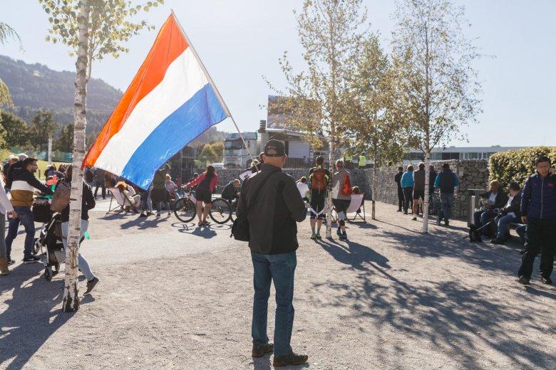 Fan aus den Niederlanden
