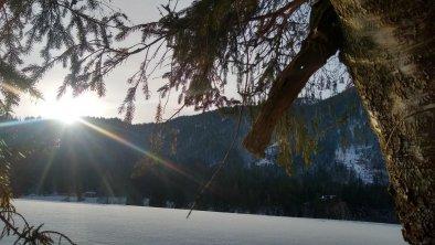 Winterlandschaft. Die Natur schläft
