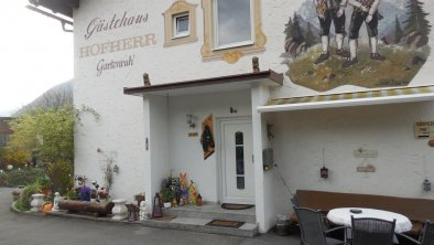 Gästehaus Gartenruh`- Anmeldung
