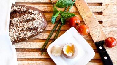 Genießen Sie unser reichhaltiges Frühstücksbuffet