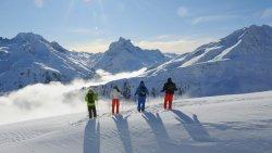 Skigebiet St. Anton am Arlberg, © Tirol Werbung/Josef Mallaun