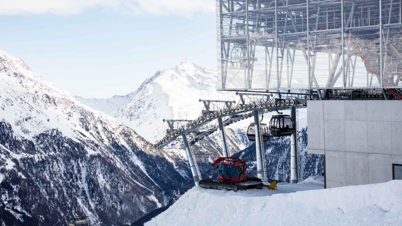 Bergstation der Giggijochbahn in Sölden, © Tirol Werbung/Lisa Hörterer