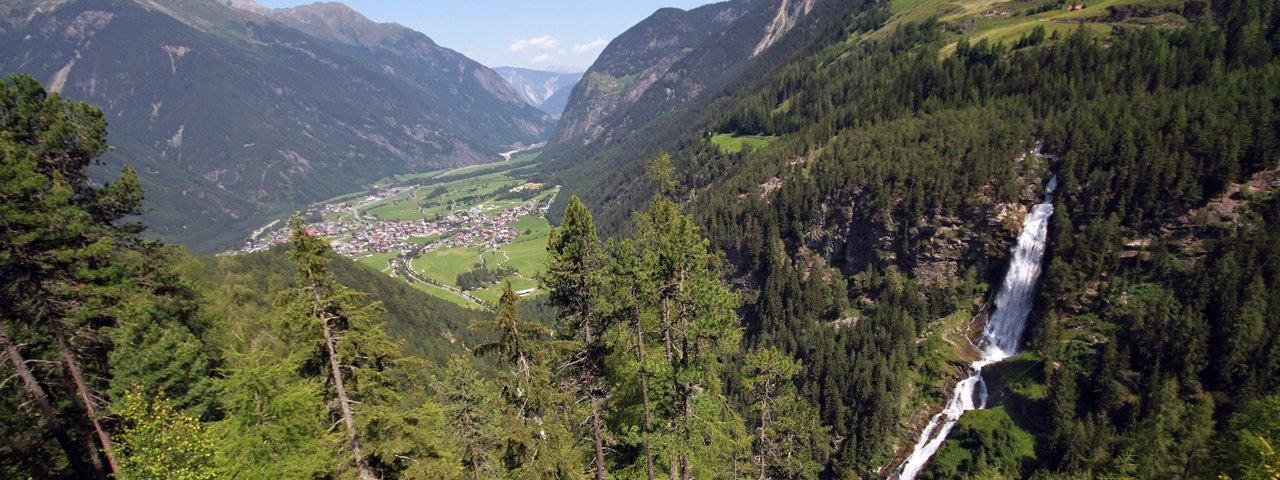 Der Stuibenfall bei Umhausen im Ötztal, © ©Tirol Werbung / Aichner Bernhard