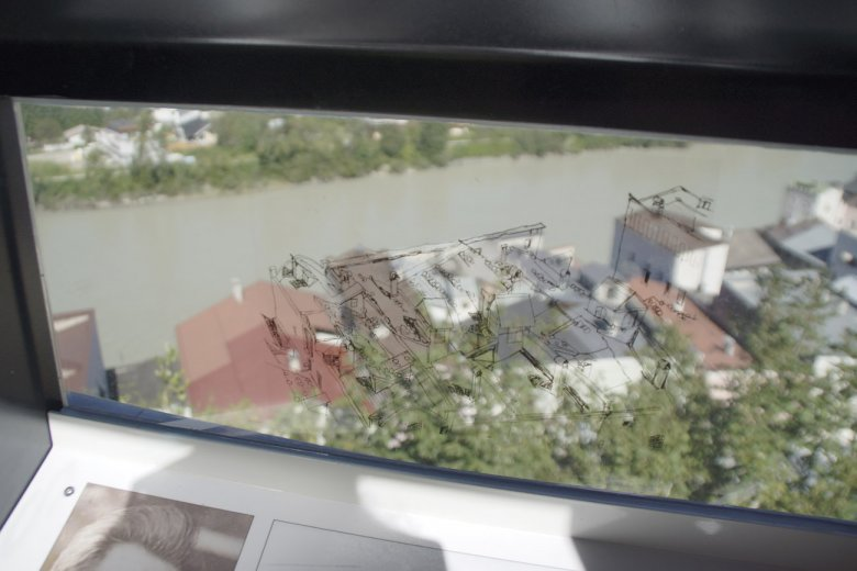 Egon Schiele Aussichtspunkt in Rattenberg