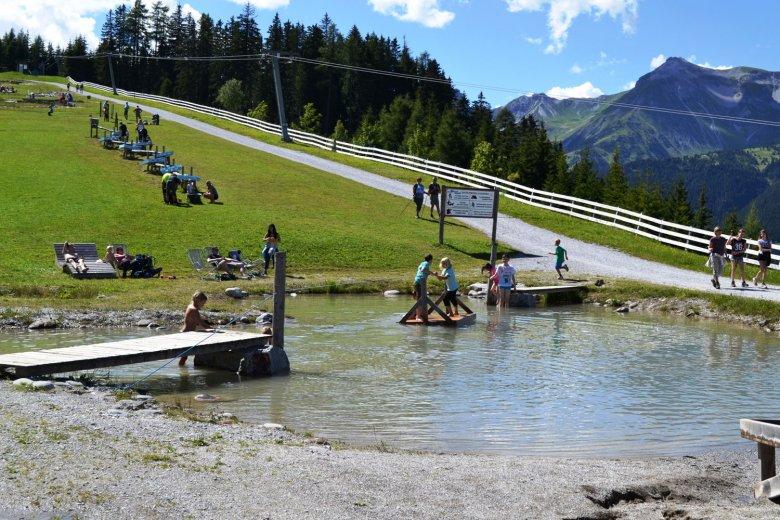 Wasserspaß von der Bergstation weg bis zur Bärenfalle hinauf. , © Tourismusverband Wipptal