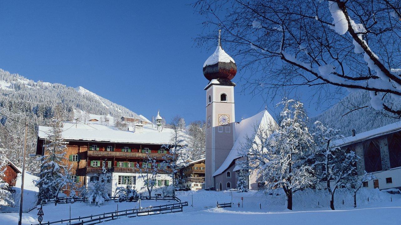 Aurach im Winter, © Albin Niederstrasser