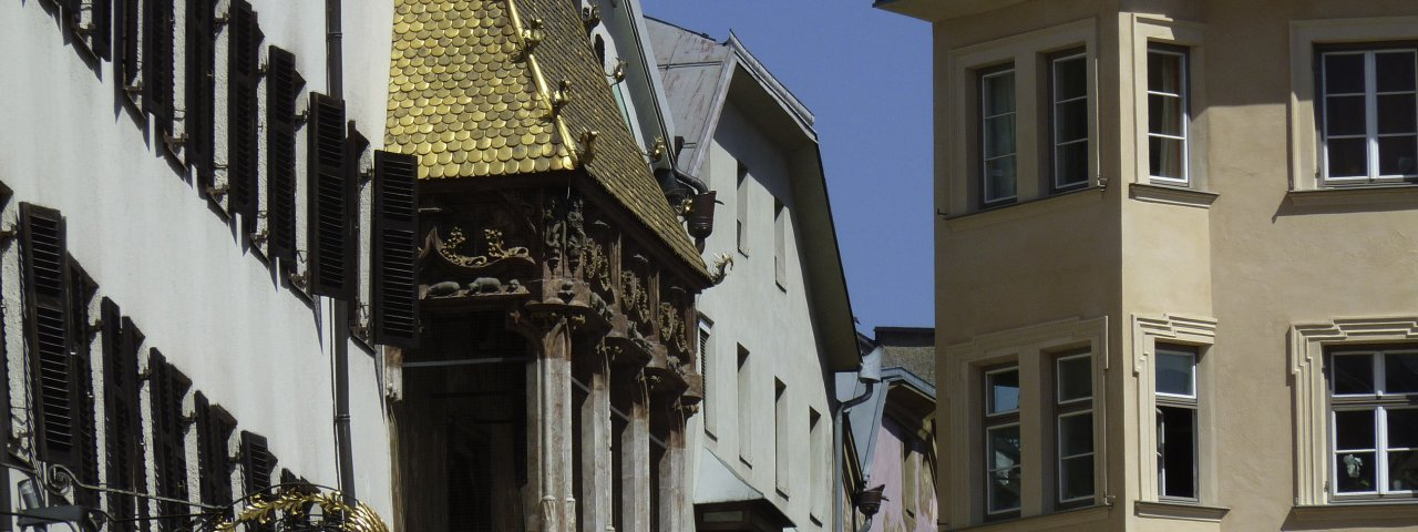 Goldenes Dachl in der Innsbrucker Altstadt, © Tirol Werbung/Bernhard Aichner