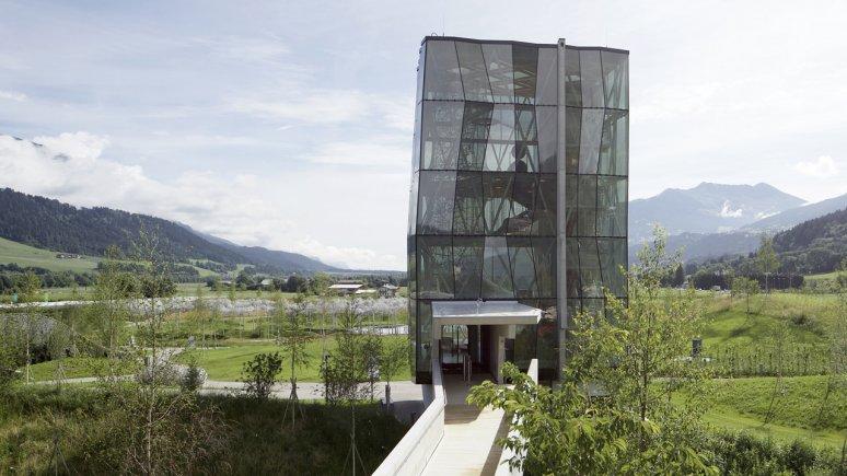 Spielturm in den Swarovski Kristallwelten, © Swarovski Kristallwelten