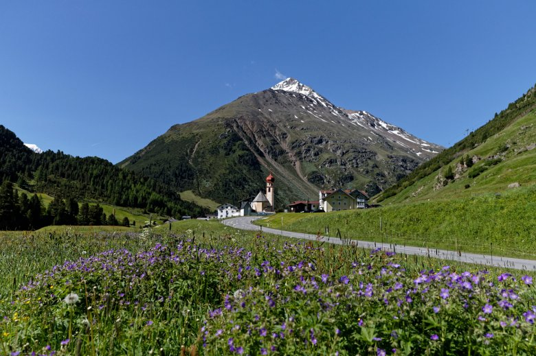 In Vent endet die Panoramawanderung. Foto: Ötztal Tourismus / Anton Brey