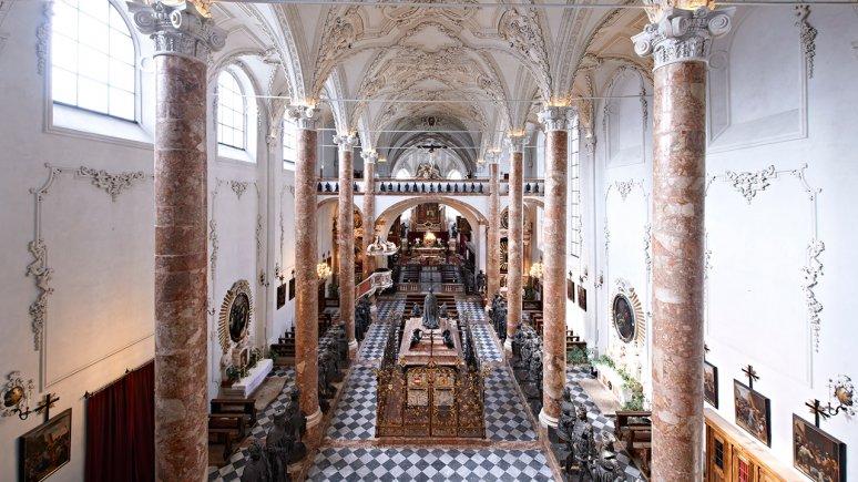 Hofkirche Innsbruck, © Alexander Haiden