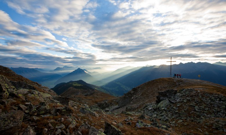 Auf dem Gipfel des Venets (2.512m). ©TVB-Pitztal-Forcher-Christian