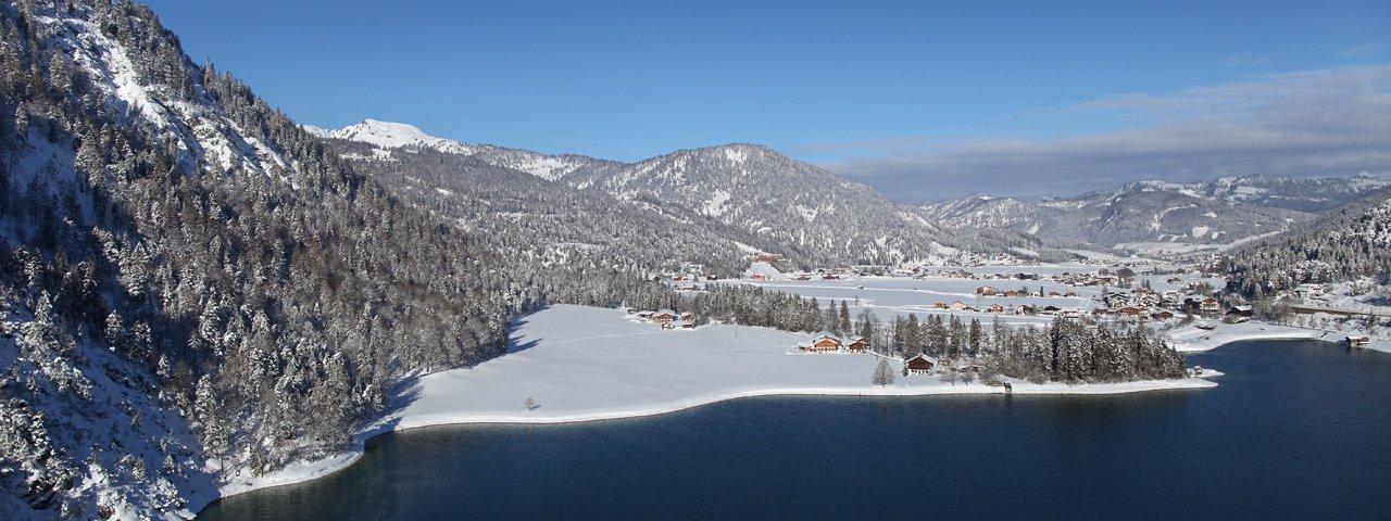 Achenkirch im Winter, © Achensee Tourismus
