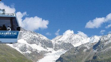 Karlesjochbahn, © Kaunertaler Gletscherbahnen