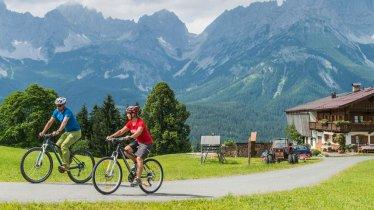 Mountainbiken in der Region Wilder Kaiser, © Daniel Reiter / Peter von Felbert
