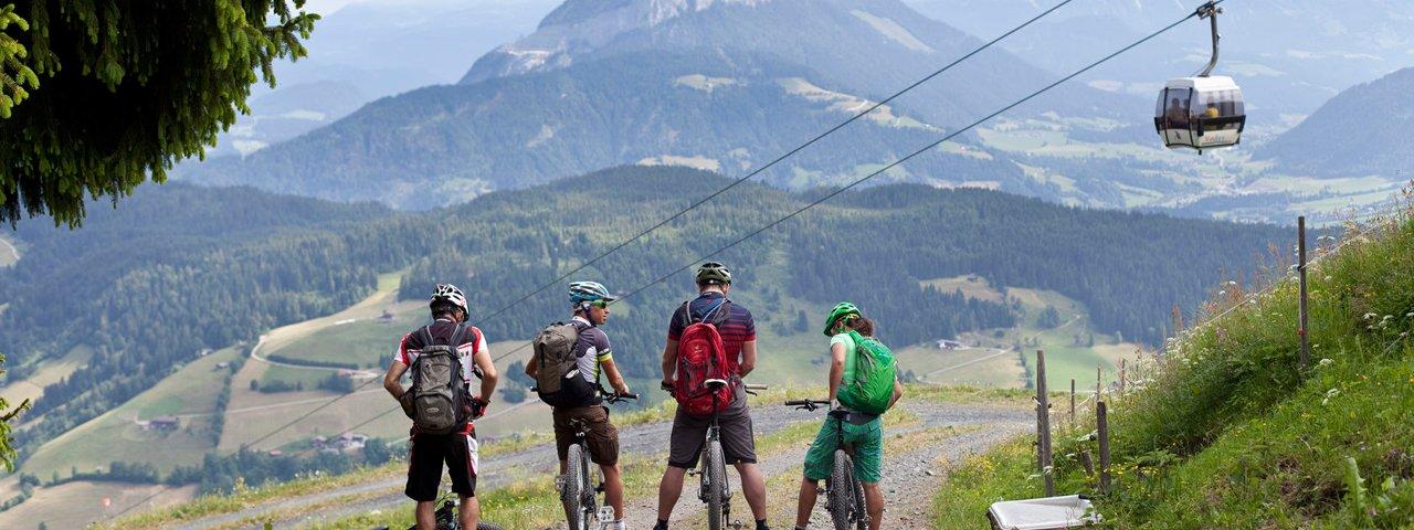 Bikeschaukel-Etappe in der Wildschönau, © Tirol Werbung/Oliver Soulas