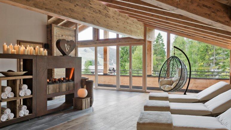 Wellnessbereich im Natur & Spa Hotel Lärchenhof, © Natur & Spa Hotel Lärchenhof