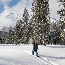 Winterwandern in der Achensee-Region, © Achensee Tourismus