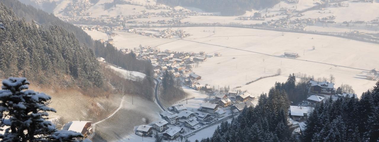 Schwendau im Winter, © Archiv Gemeinde Schwendau