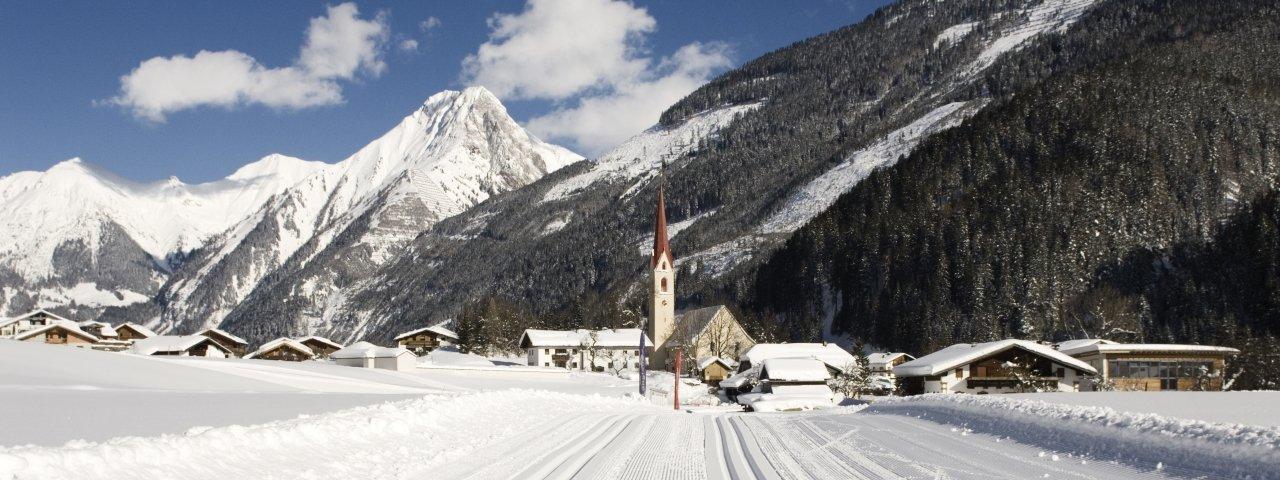 Häselgehr im Winter, © Naturparkregion Lechtal