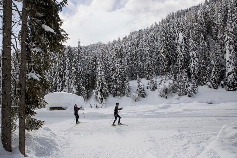 Langlaufen Obertilliach, Osttirol