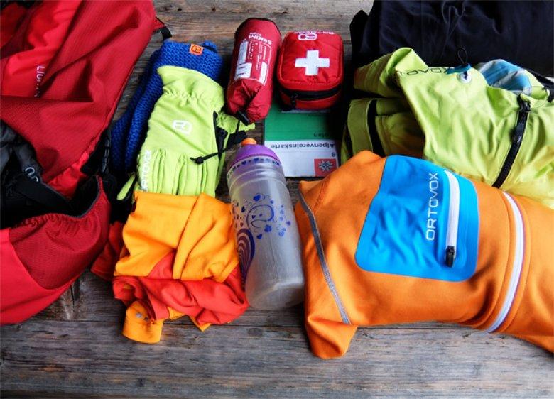 Wanderrucksack richtig packen