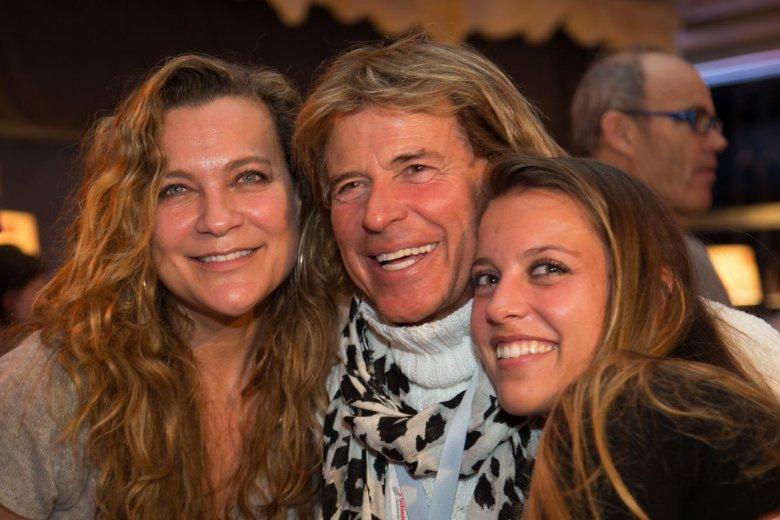 Hansi Hinterseer mit Familie