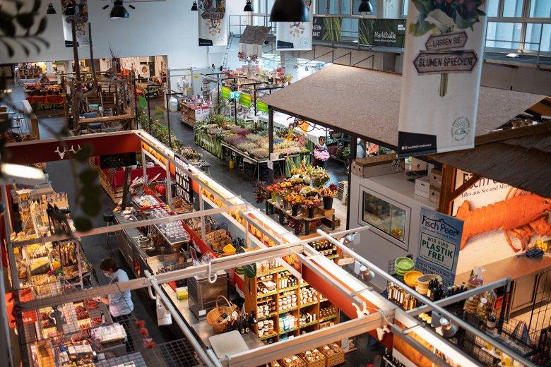 In der Innsbrucker Markthalle gibt es unzählige Köstlichkeiten zu entdecken.