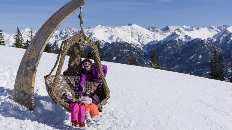 Skifahren in Serfaus-Fiss-Ladis, © Tirol Werbung/Hans Herbig