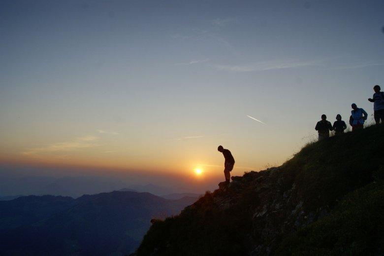 Sonnenaufgang am Wiedersbergerhorn. , © Alpbachtal Seenland Tourismus