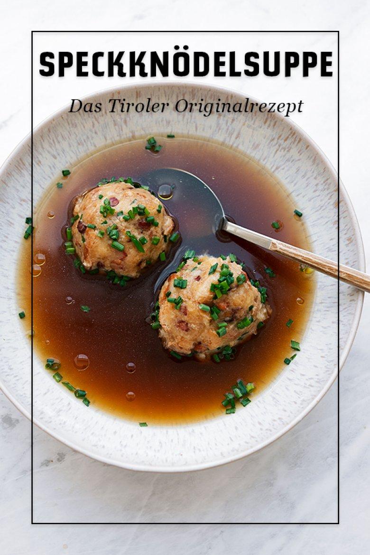 Originalrezept Speckknödelsuppe