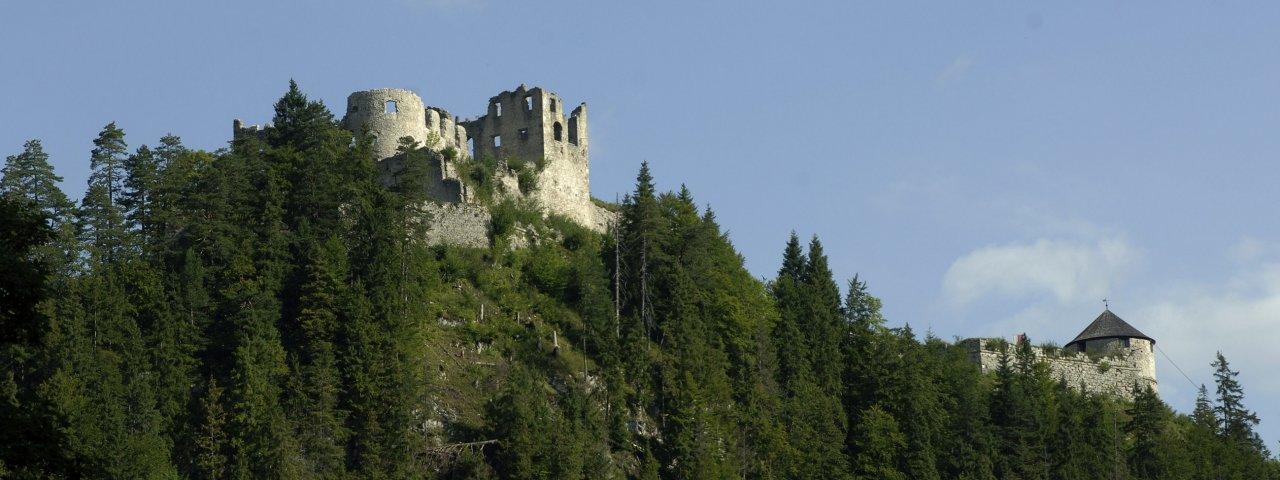Ruine Ehrenberg bei Reutte, © Tirol Werbung/Bernhard Aichner