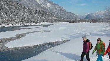 Winterwanderung am Lech entlang, © Gerhard Eisenschink